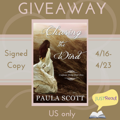 Chasing the Wind blog tour giveaway