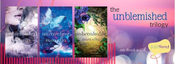 the unblemished trilogy banner