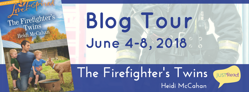The Firefighter's Twins Blog Tour