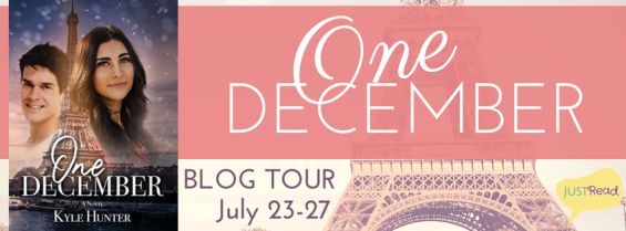 one december blog tour banner