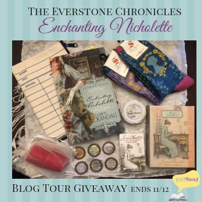 enchanting nicholette blog tour giveaway