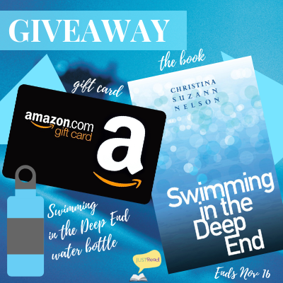 swimming in the deep end blitz giveaway