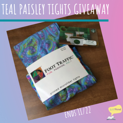teal paisley tights blitz giveaway