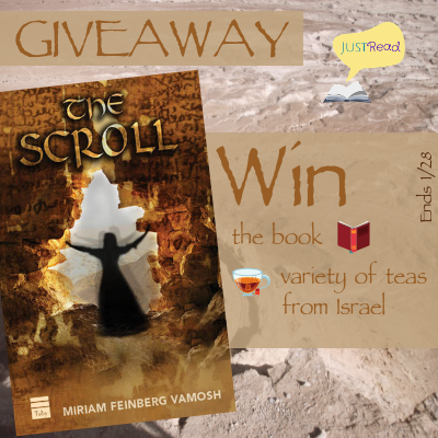 the scroll blog tour giveaway