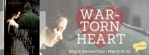 War Torn Heart blog & review tour