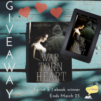 war-torn heart giveaway