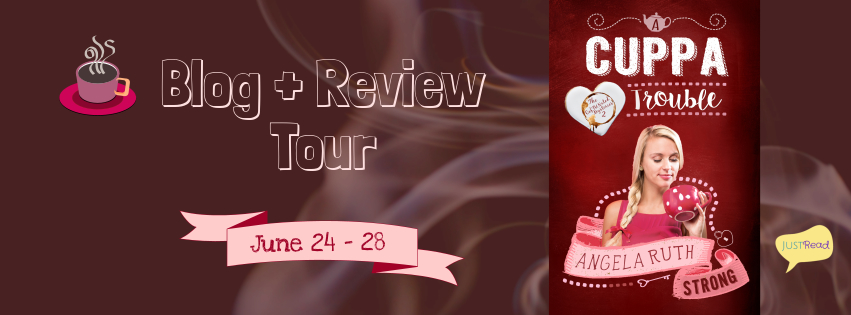 Welcome to the A Cuppa Trouble Blog + Review Tour & Giveaway!
