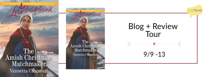 The Amish Christmas Matchmaker Blog Tour: Author Interview + Giveaway