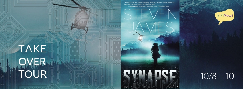 Synapse by Steven James JustRead Takeover Tour