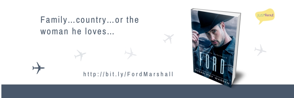 Ford by Susan May Warren JustRead Takeover Tour