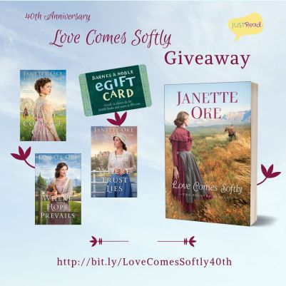 giveaway love comes softly takeover