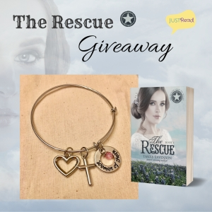 The Rescue JustRead giveaway