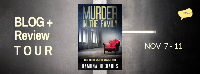 Welcome to the Murder in the Family Blog + Review Tour & Giveaway!