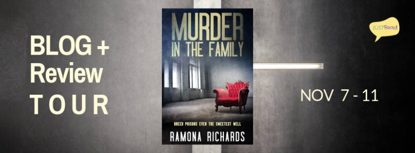 Murder in the Family JustRead Blog Tour