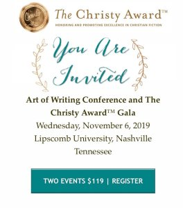 You're Invited to The Art of Writing Conference and The Christy Award Gala