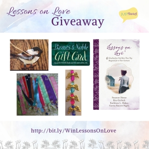 Lessons on Love JustRead Takeover Tour Giveaway
