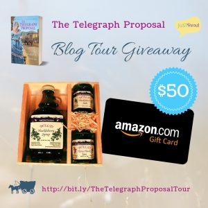 The Telegraph Proposal JustRead Giveaway