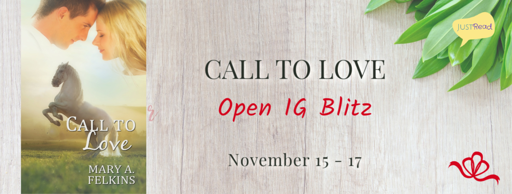 Welcome to the Call to Love IG Blitz & Giveaway!