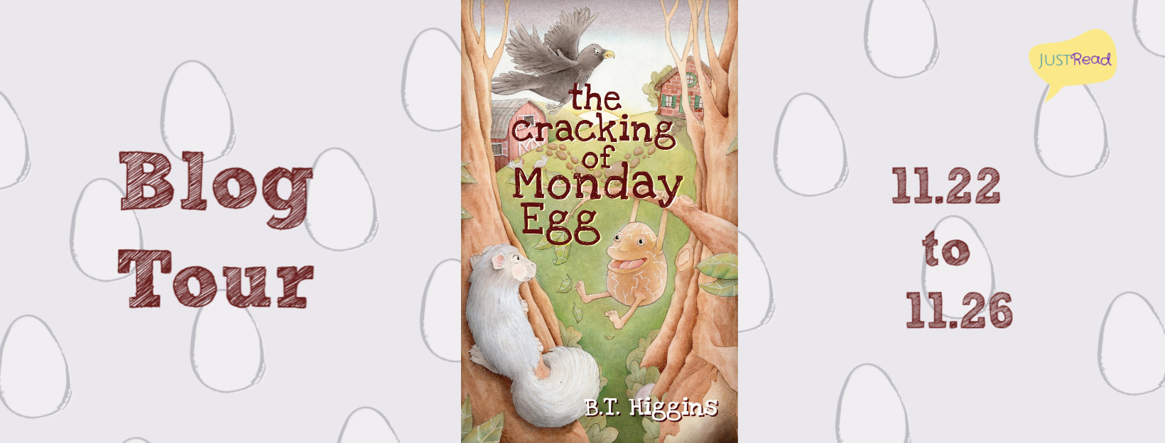 Welcome to The Cracking of Monday Egg Blog Tour & Giveaway!