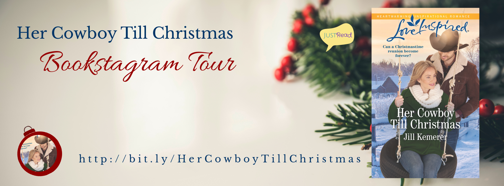 Welcome to the Her Cowboy Till Christmas IG Blitz & Giveaway!