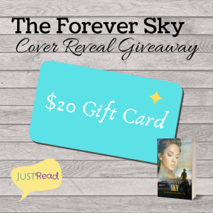 The Forever Sky JustRead Cover Reveal Giveaway