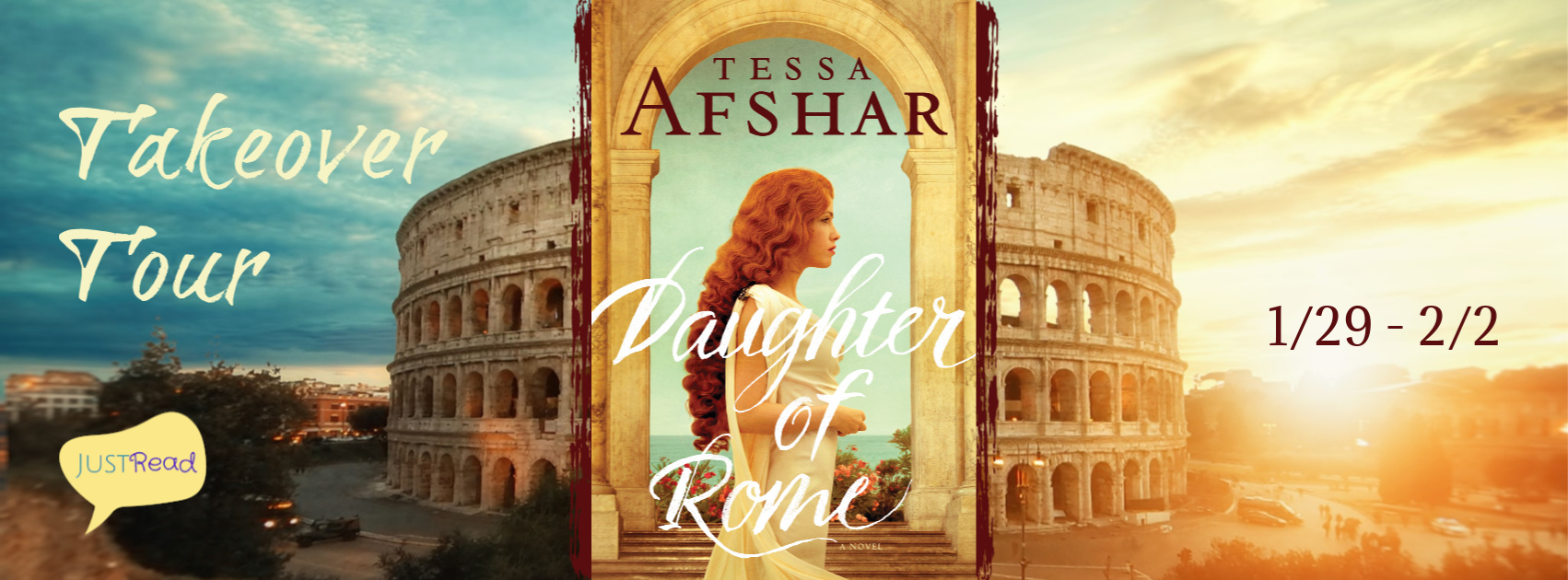 Welcome to the Daughter of Rome Takeover Tour & Giveaway!