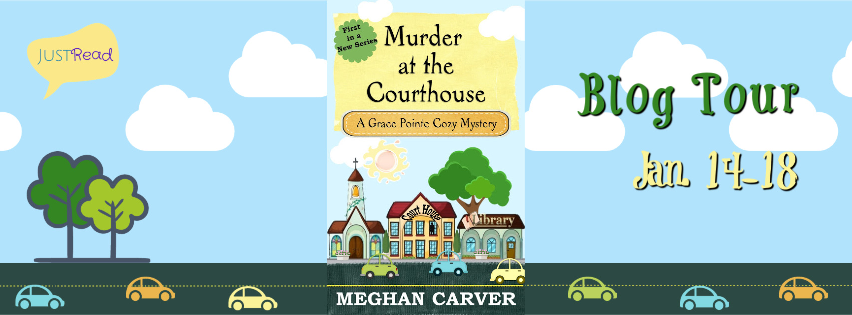 Welcome to the Murder at the Courthouse Blog Tour & Giveaway!