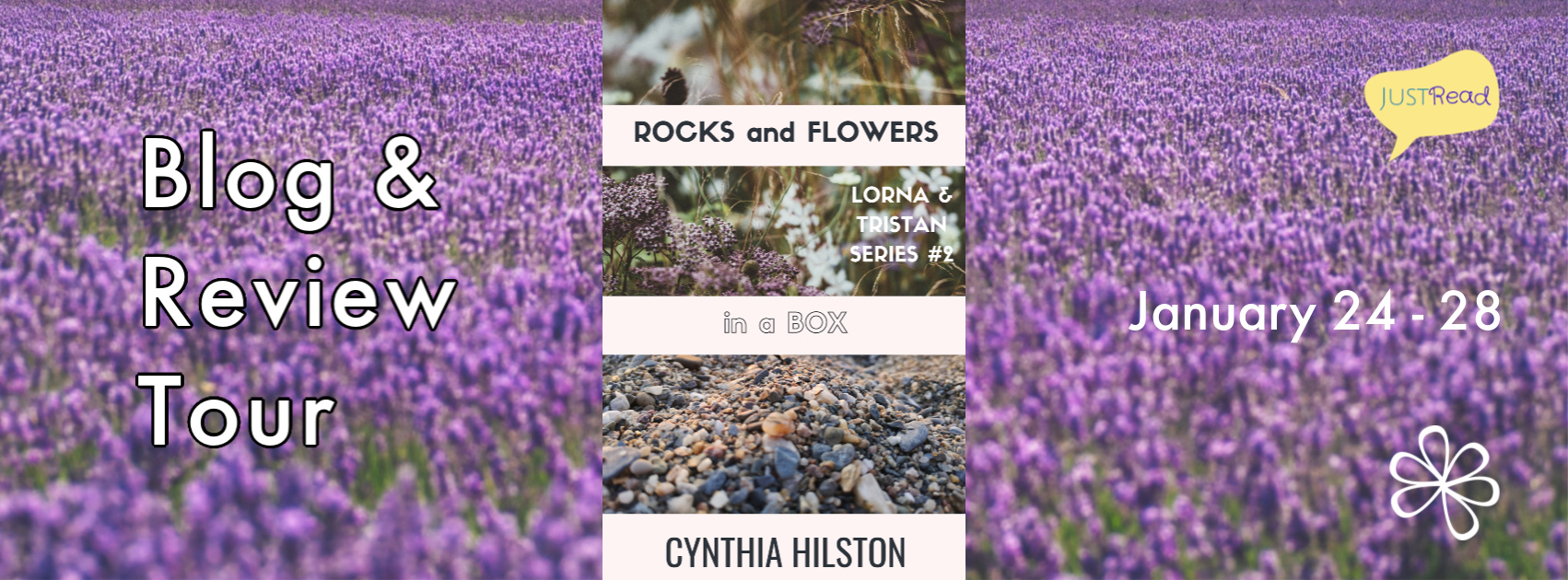 Welcome to the Rocks and Flowers in a Box Blog + Review Tour & Giveaway!