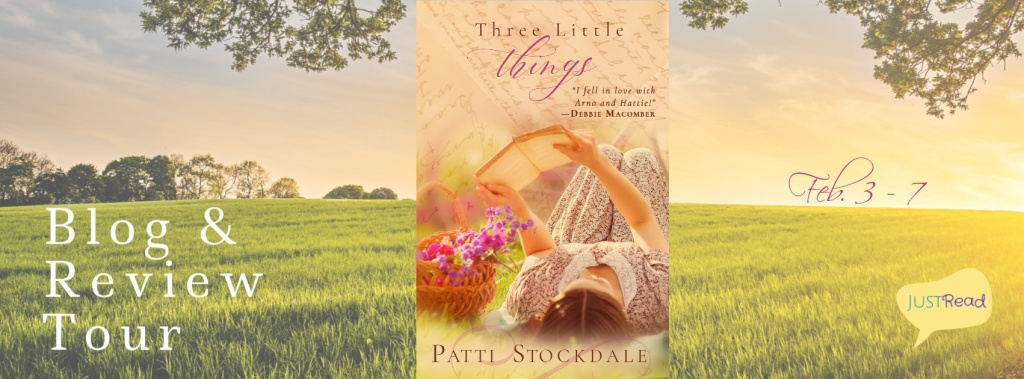 Three Little Things JustRead Blog Tour