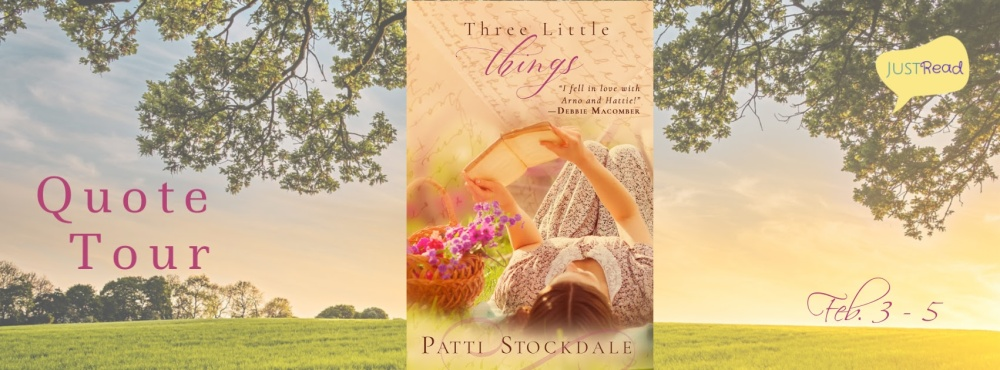 Three Little Things JustRead Quote Tour
