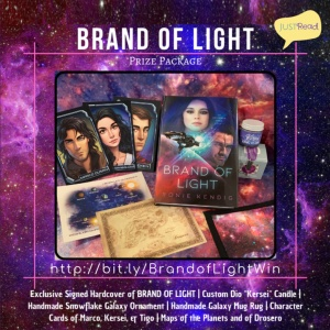 Brand of Light JustRead Giveaway