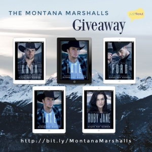 The Montana Marshalls JustRead Giveaway