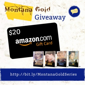 Montana Gold series JustRead Giveaway