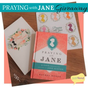 Praying for Jane JustRead Blog Giveaway