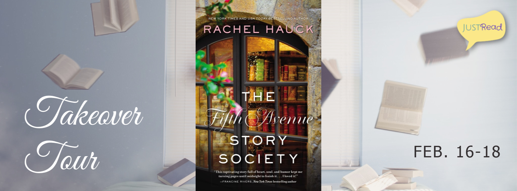 Welcome to The Fifth Avenue Story Society Takeover Tour!