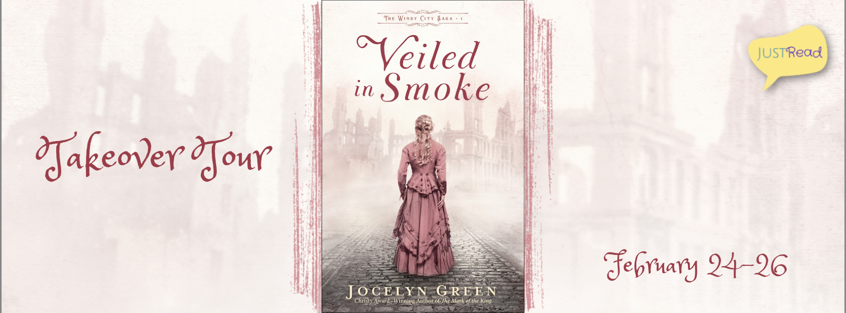 Welcome to the Veiled in Smoke Takeover Tour & Giveaway!