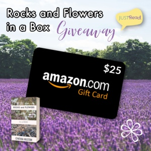 Rocks and Flowers in a Box JustRead Giveaway