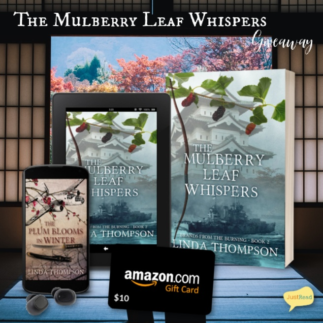 The Mulberry Leaf Whispers JustRead Giveaway