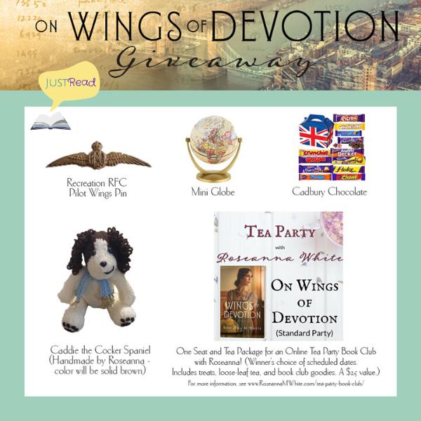 On Wings of Devotion giveaway JR