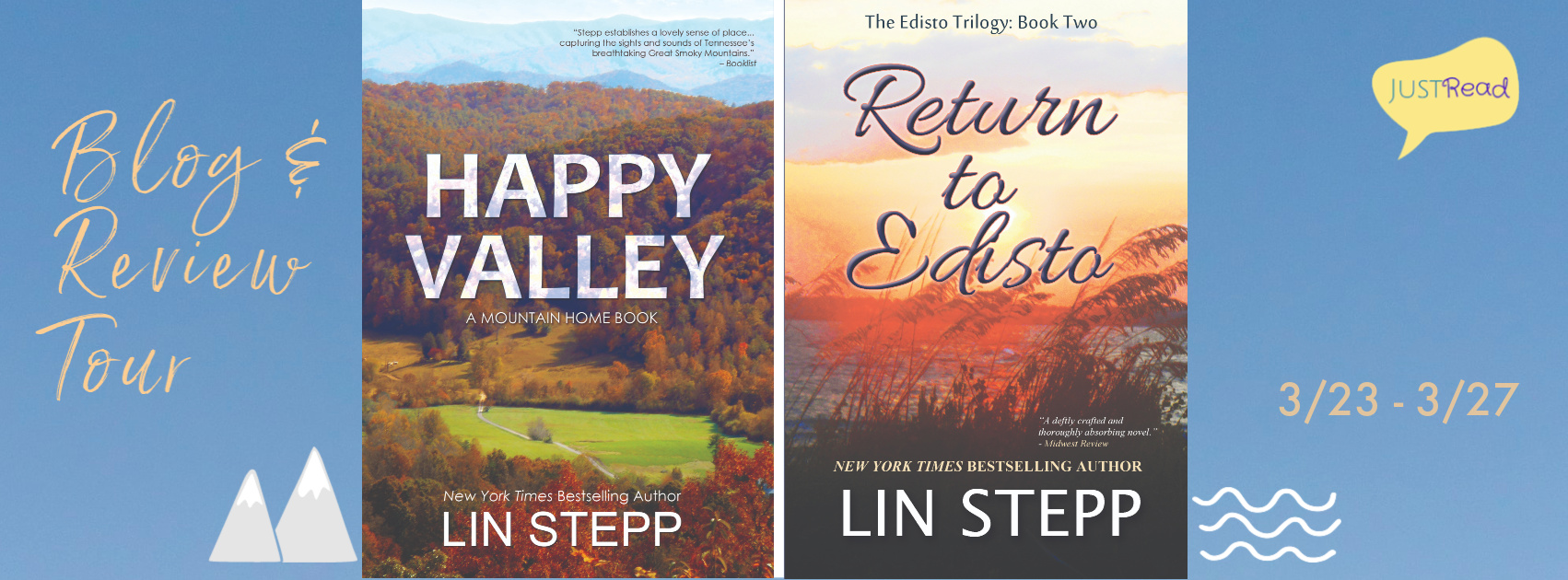 Welcome to the Happy Valley & Return to Edisto Blog Tour & Giveaway!