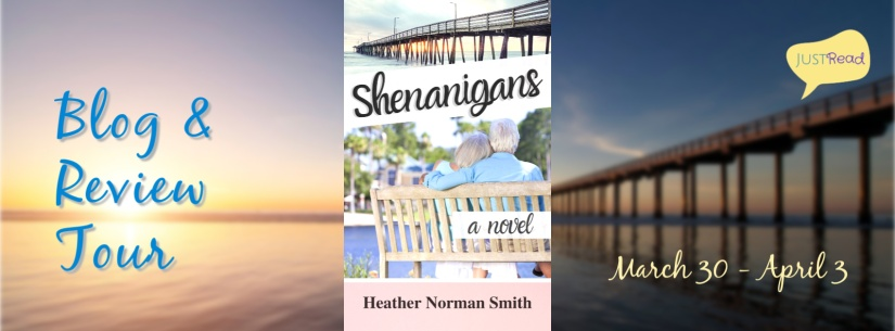 Shenanigans JustRead Blog Tour