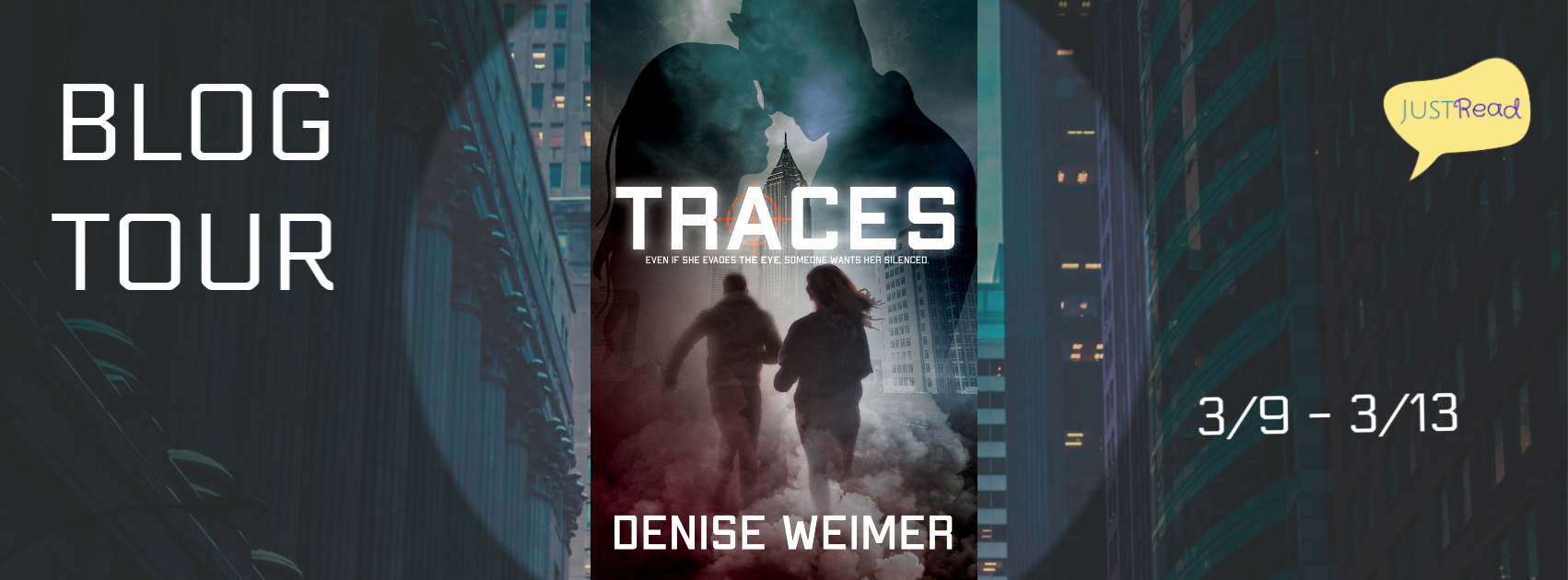 Welcome to the Traces Blog Tour & Giveaway!
