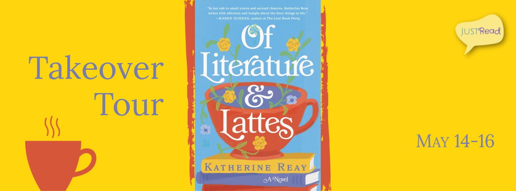 Welcome to the Of Literature and Lattes Takeover Tour!