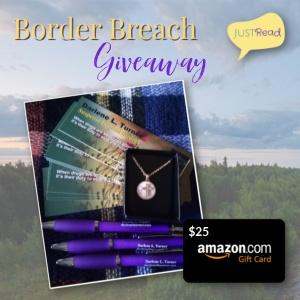 Border Breach JustRead Giveaway