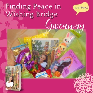Finding Peace in Wishing Bridge JustRead Giveaway