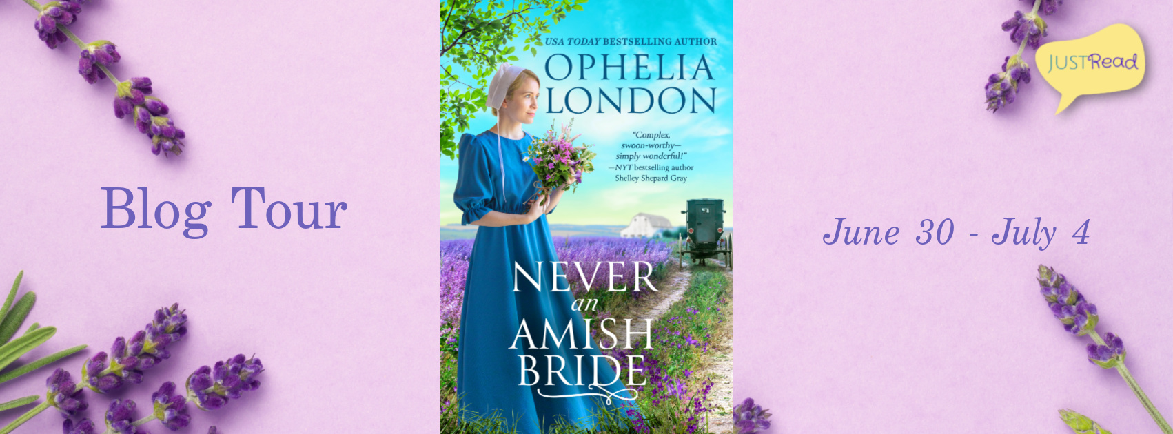 Welcome to the Never an Amish Bride Blog Tour & Giveaway!