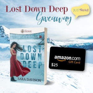 Lost Down Deep JustRead Giveaway