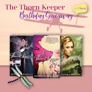 The Thorn Keeper JustRead Giveaway