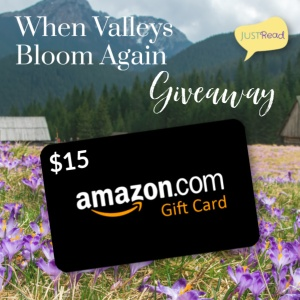 When Valleys Bloom Again JustRead Giveaway