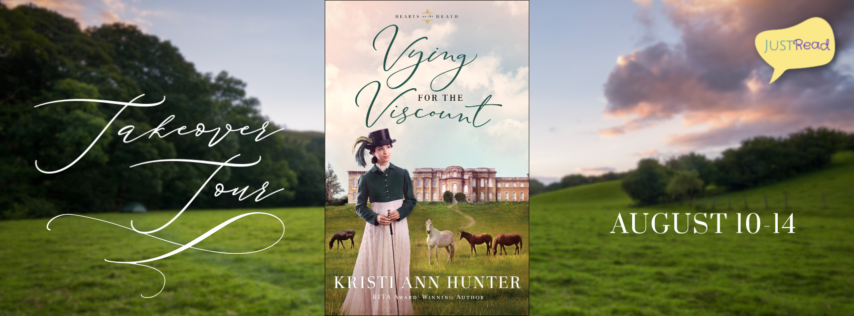 Welcome to the Vying for the Viscount Takeover Tour & Giveaway!